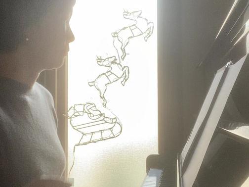 Jobimが初めて作曲したとされるピアノ曲