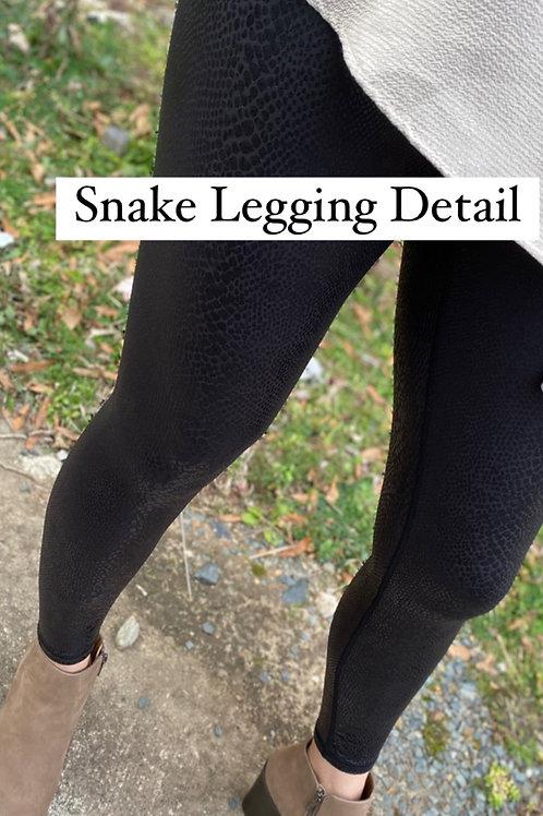 Snakeprint Leggings