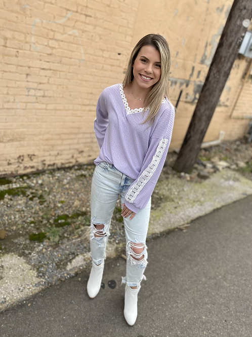 Lovely Lavender Top