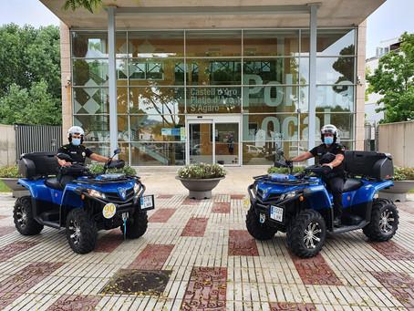 Lloguer QUADS - Policia Local Castell-Platja d'Aro