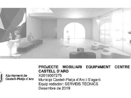 Pressupost mobiliari Centre Cívic Castell d'Aro