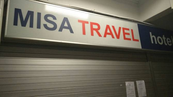 Misa Travel closed, services 'ceased with immediate effect'