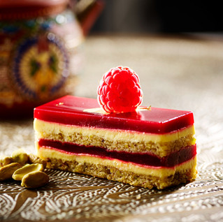 Opera cake by Danielle Maupertuis