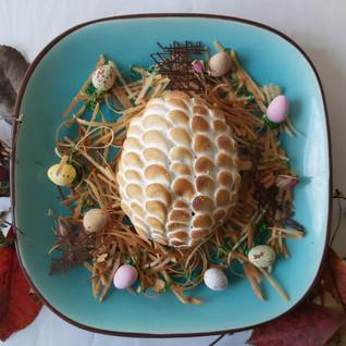 Glazed egg