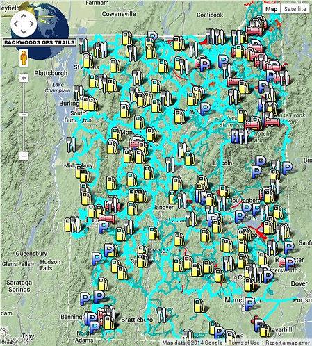 Backwoods GPS - NH VT