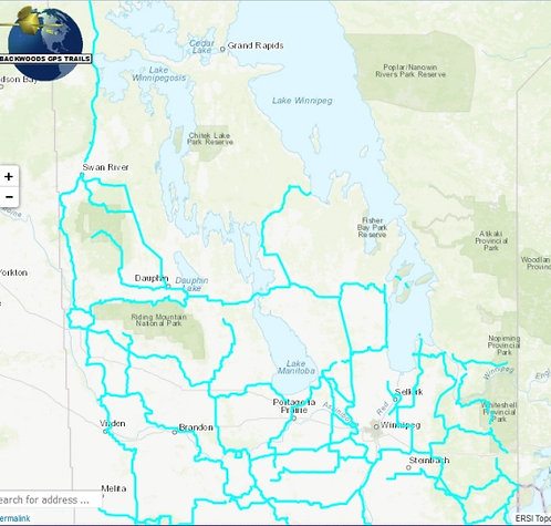 Backwoods GPS - Manitoba