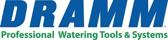 Dramm Logo tag line prof wtr tls systms.