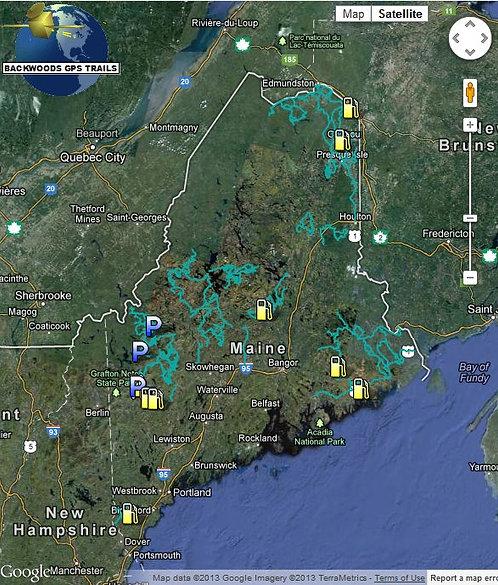 Backwoods - Maine ATV Trails