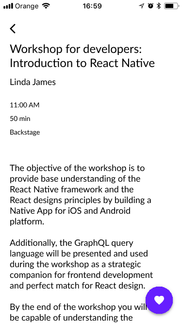Lecture info