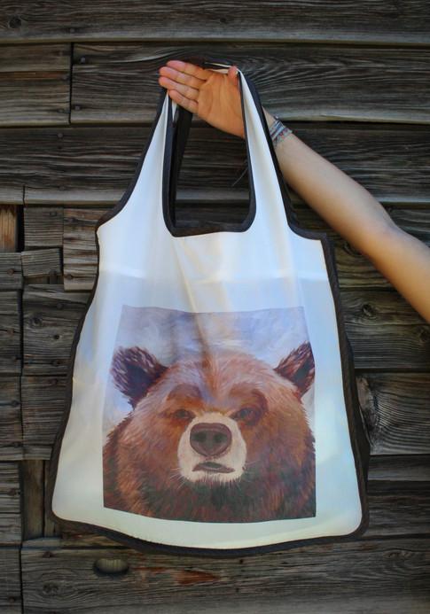 Bear Reusable Shopping Bag