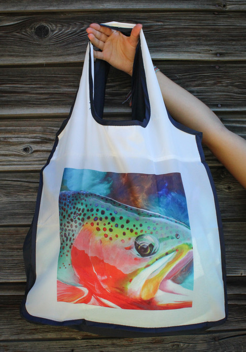 Cutthroat Trout Reusable Shopping Bag