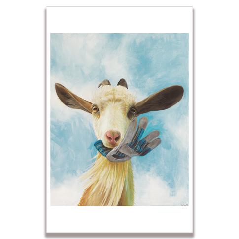 Goat Poster Print