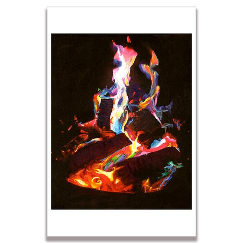 Fire Poster Print