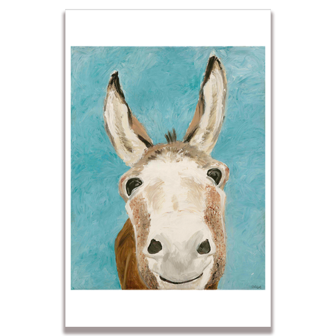Donkey Poster Print