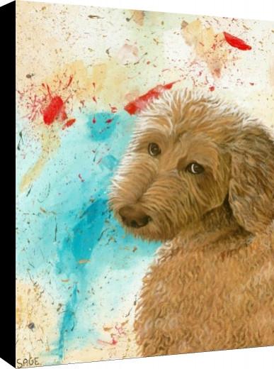 Ozzy Canvas Print
