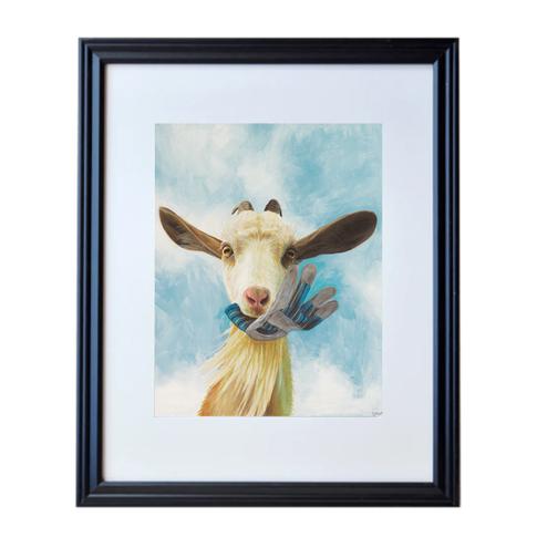 Goat Poster Print Framed