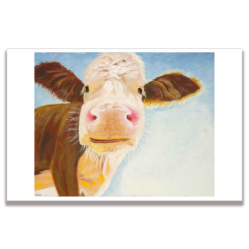 Cow Poster Print