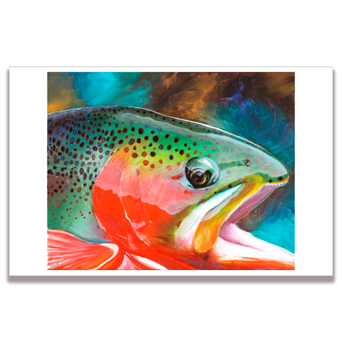 Cutthroat Trout Poster Print