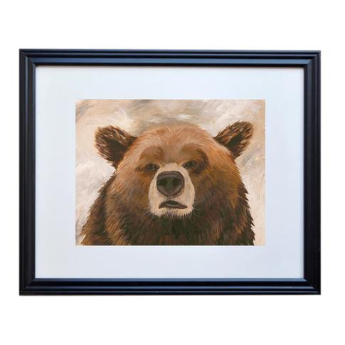 Bear Poster Print Framed