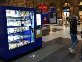 IKEA - Verkaufsautomaten auf Road Show