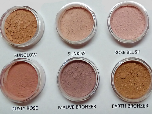 Loose Mineral Blushes and Bronzers