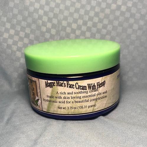 Hemp Seed Oil Face Cream