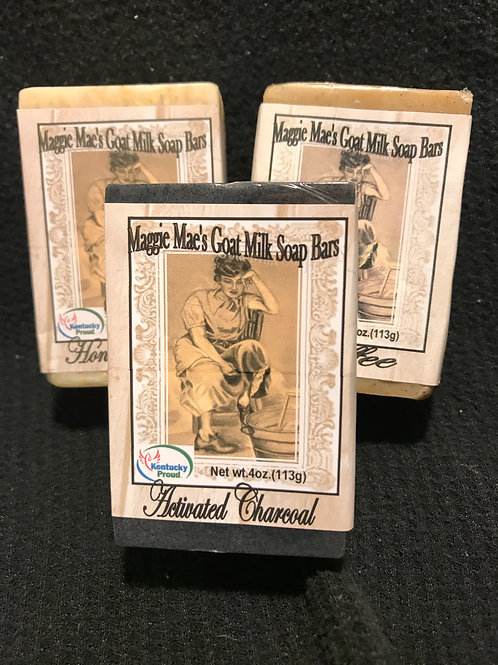 Maggie Mae's Exfoliating Goat Milk Bar Soap