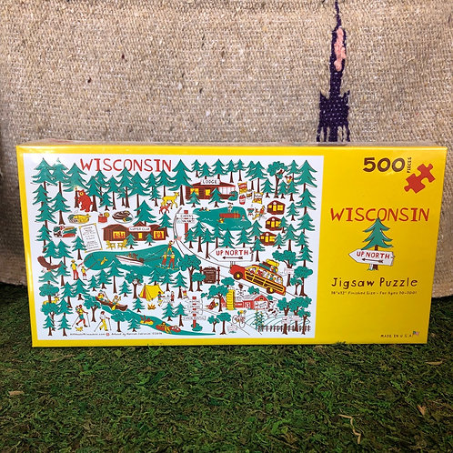 """WI """"Up North"""" Puzzle"""