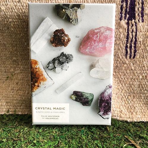 Crystal Magic Notecard Set