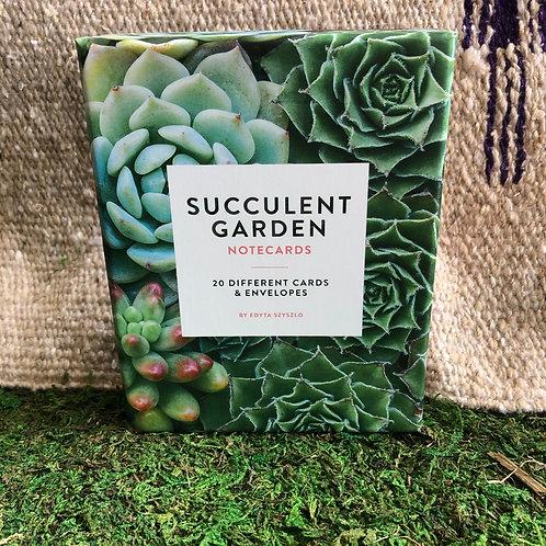 Succulent Garden Notecard Set