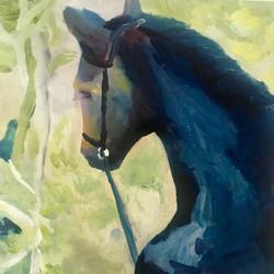 Off a horse