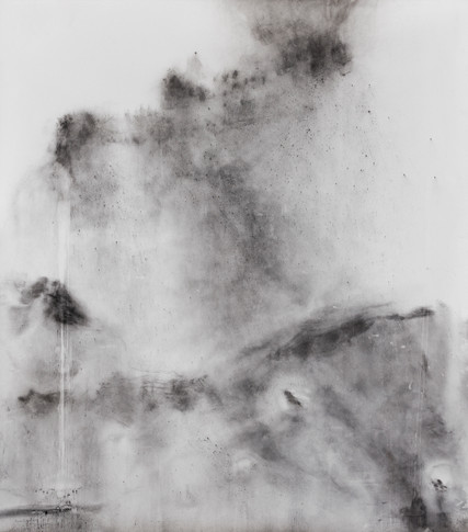 AND EVERYTHING FLOATS AWAY 2020 Charcoal on paper