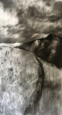 SWARTBOSKLOOF 2019 Charcoal on paper