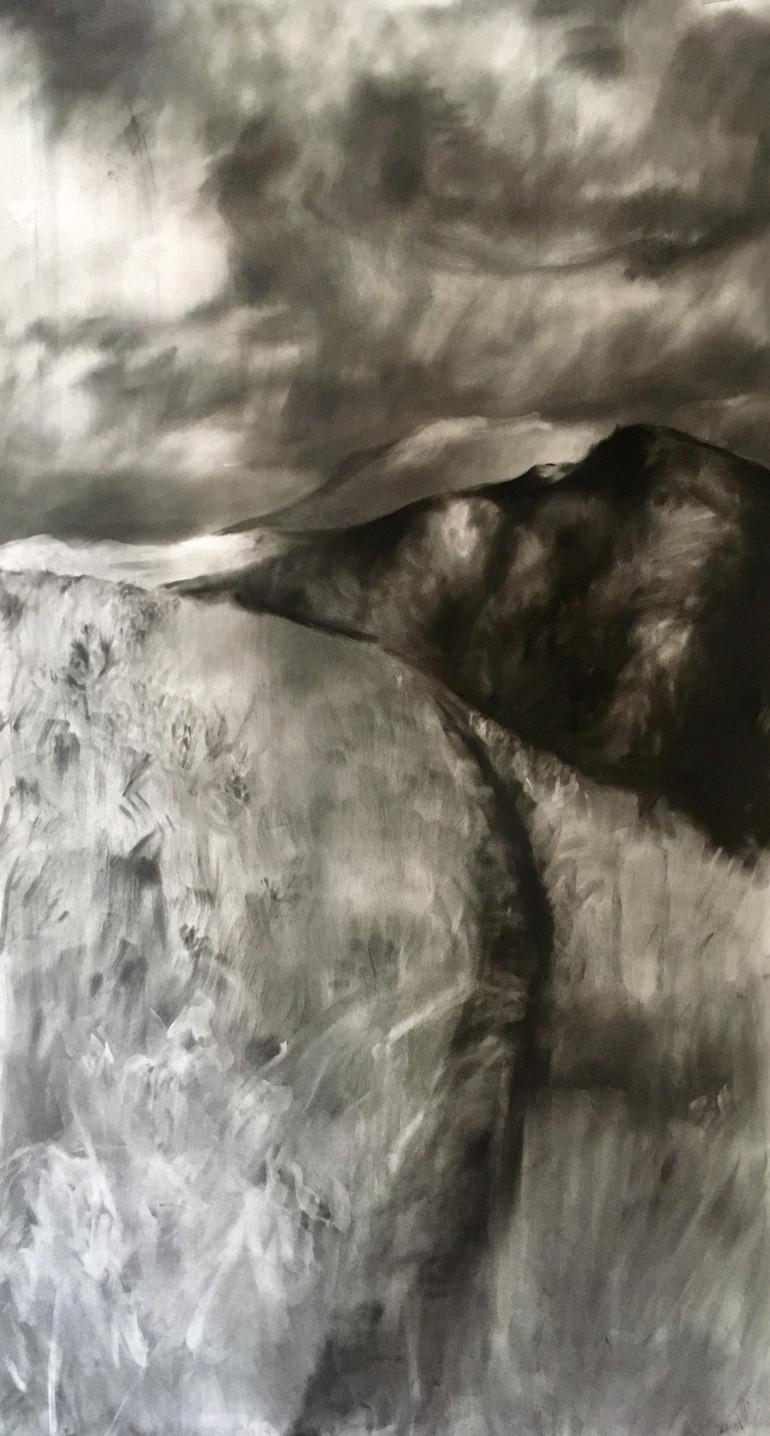 SWARTBOSKLOOF 2019 Charcoal on paper 131 x 72cm