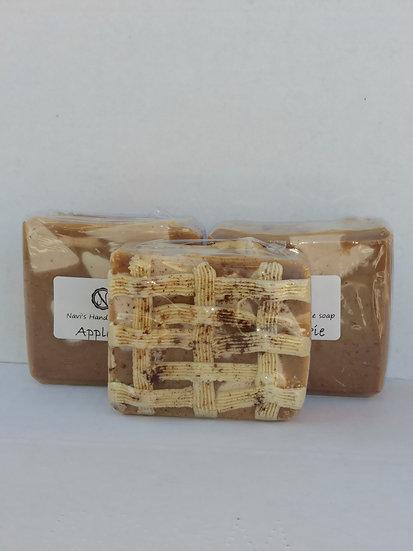 Apple pie handmade soap