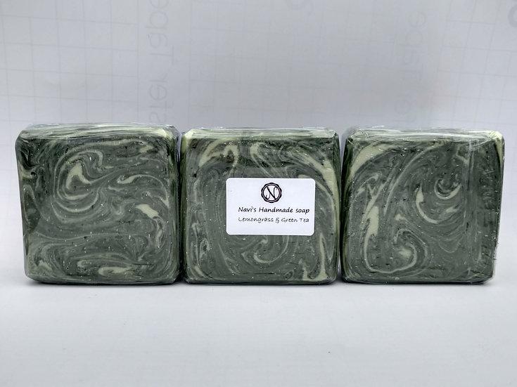 Lemongrass and Green Tea Handmade Soap