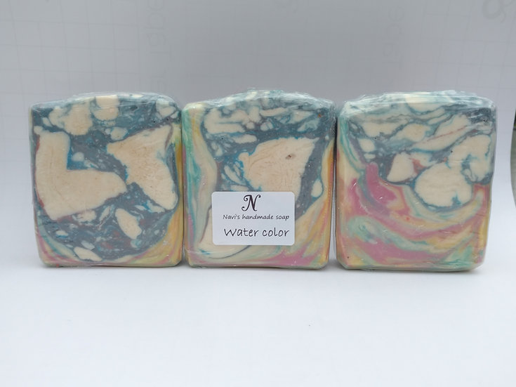 Water Color Handmade Soap