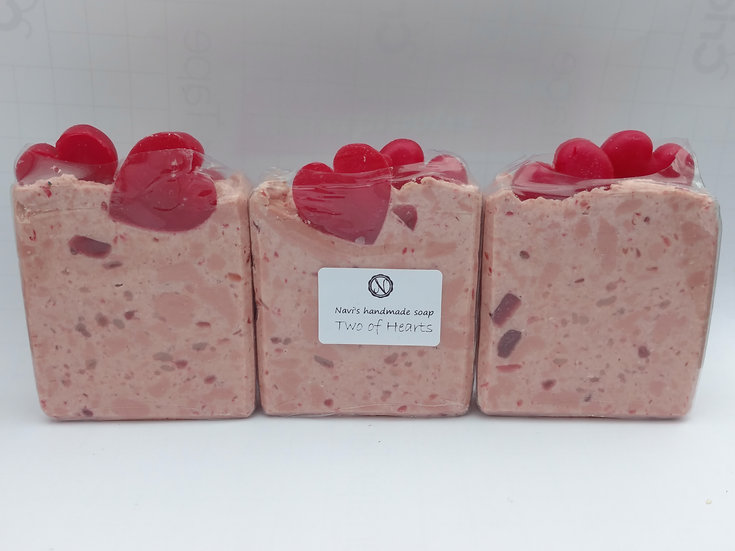 Two Of Hearts Handmade Soap