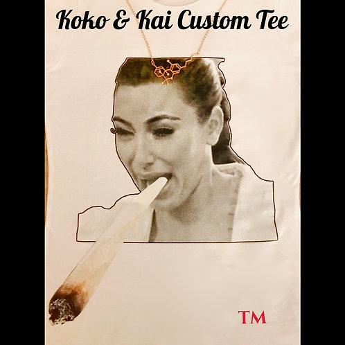 Kardashian Blunted Tee - Custom