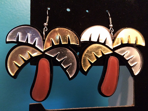 Palm Tree Earrings (2 Styles)