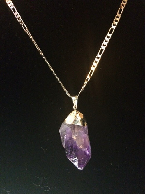 Amethyst Necklace Custom Made by Koko&Kai