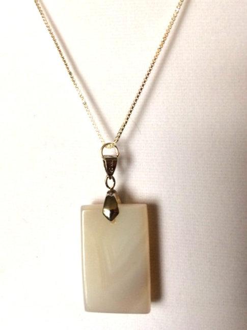 Milky Quartz Necklace / Sold