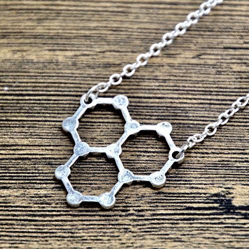 Water molecule In Silver