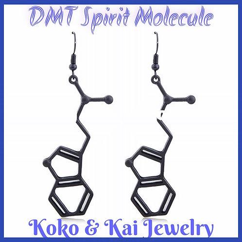 "DMT ""The Spirit Molecule"" Earrings from Koko & Kai"