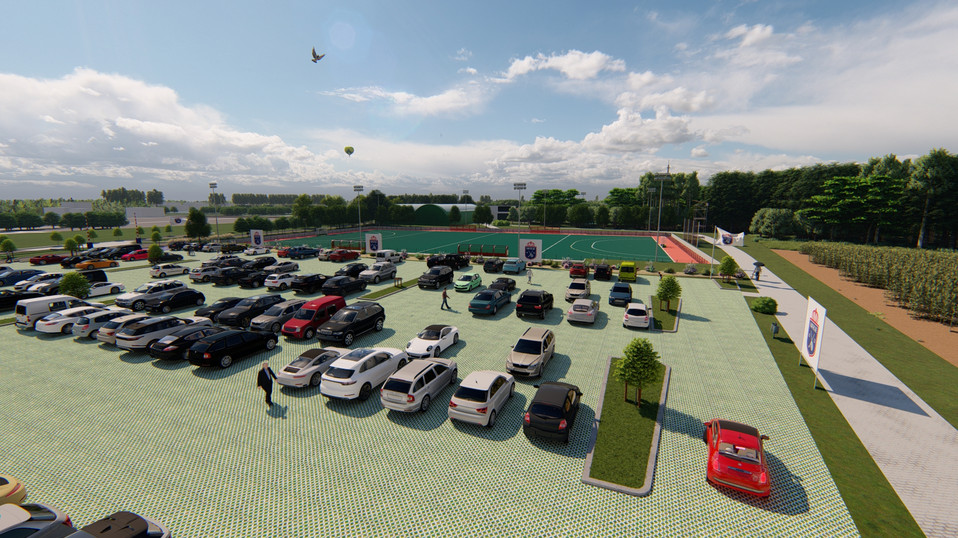 Project - parking hockeyclub