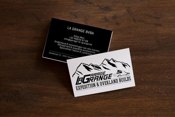 Naamkaartjes La Grange