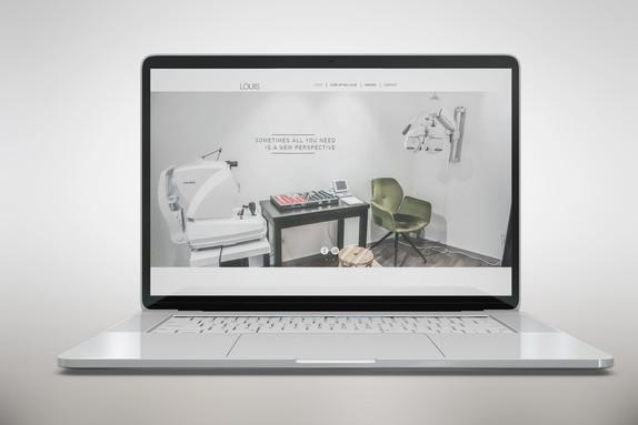 Website Optiek Louis