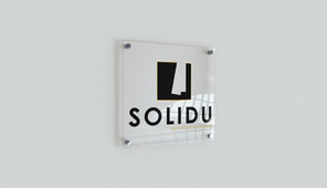 Logo design Solidu