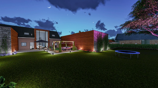 Project - Verbouwing tuin