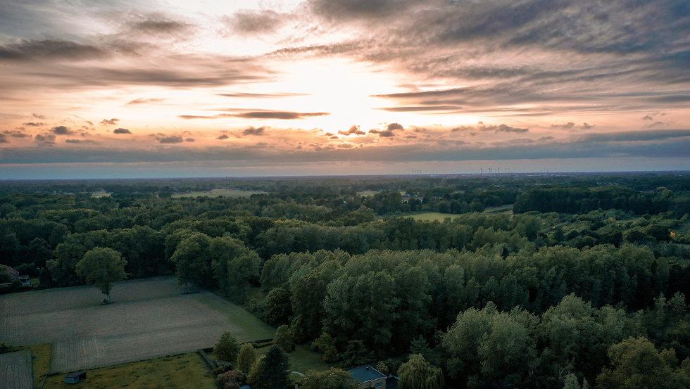 Sunset Winkelomheide - Geel